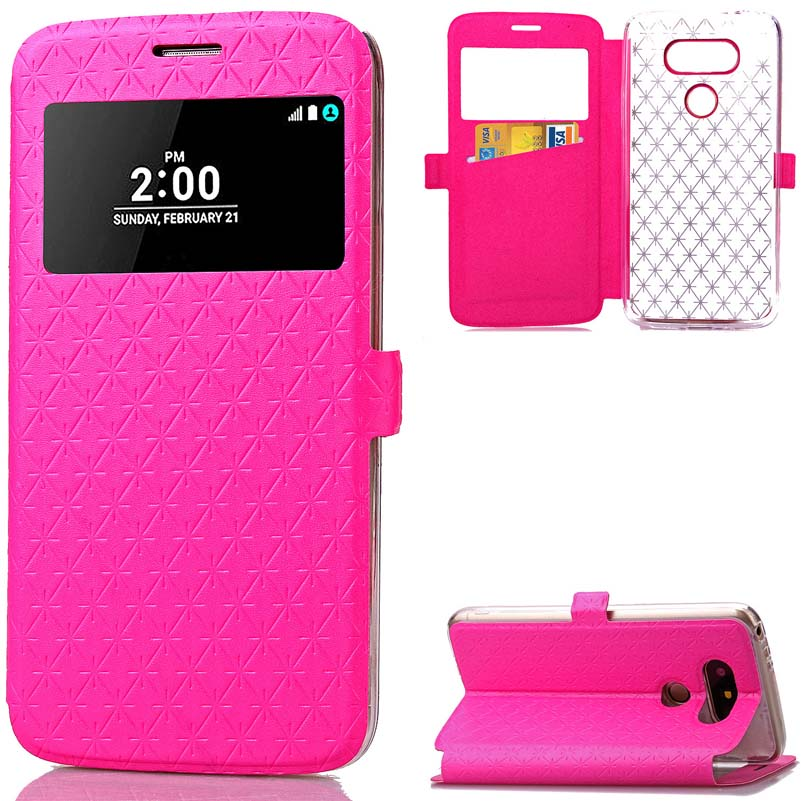 Befospey Роскошные Магнитная солнце Окна ТПУ телефона чехол для LG G5 Роскошные элегантные защитный мягкий чехол Чехол чехол для LG G5