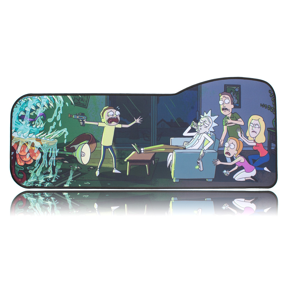 Large XXL Mouse Pad Gaming//Office Extended Rainbow Gaming Work Mouse Pad//Extended Office Desk Pad Long Non-Slip Rubber Mice Pads