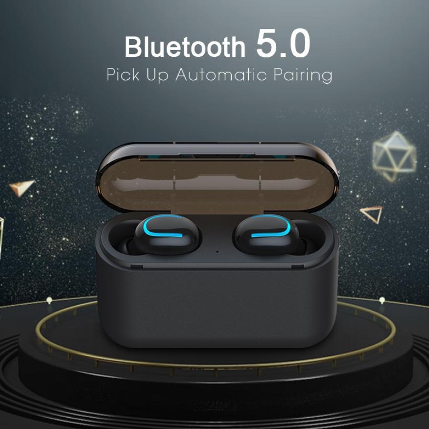 Bluetooth 5 0 Earphones TWS Wireless Headphones Blutooth Earphone Handsfree Headphone Sports Earbuds Gaming Headset Phone