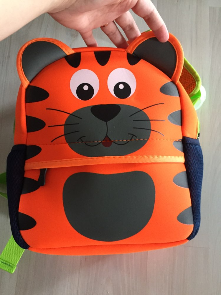 Cute Kid Toddler School Bags Backpack Kindergarten Schoolbag 3D Cartoon Animal Bag photo review