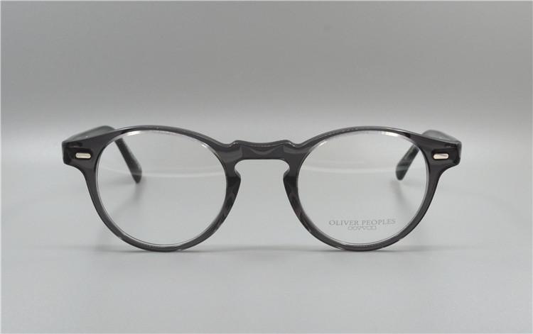 старинные оптические очки кадр без бремя ov5186 грегори PAC для женщин и мужчин оправы для очков бесплатная доставка
