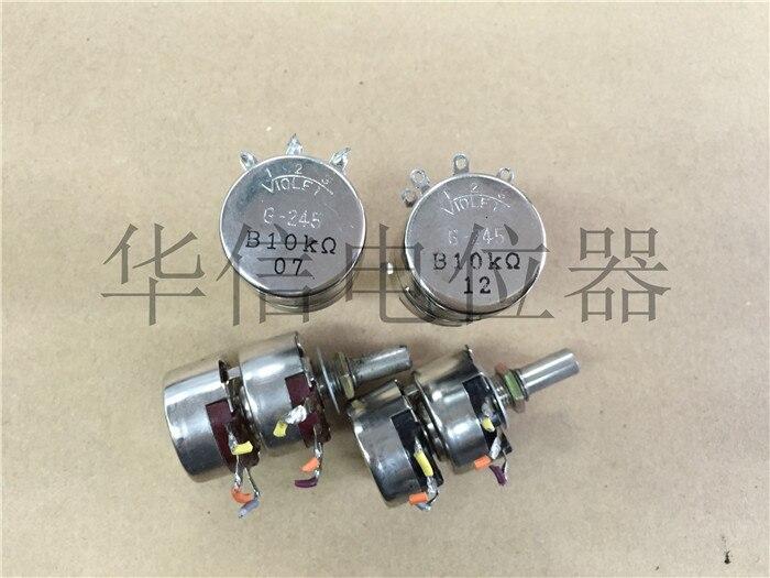 Assurance qualité japon importation G-245 B10K A20K B20K double potentiomètre au lieu de RV24YG (commutateur)