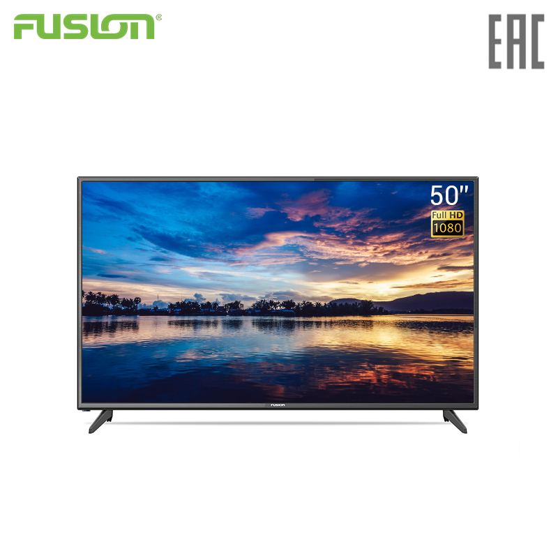 TV LED Fusion 50 FLTV-50B100T Television 5055InchTv FullHD