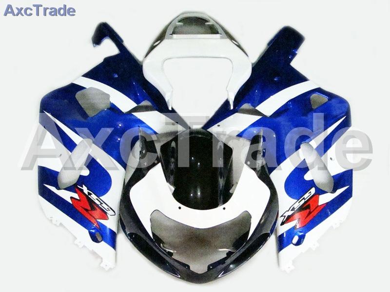 Комплекты мотоцикл Обтекатели для Suzuki GSXR системы GSX-Р 600 750 GSXR600 GSXR750 2001 2002 2003 К1 пластичной Впрыски ABS обтекатель комплект трубопровод a270