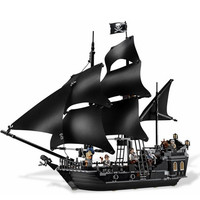 804Pcs Black Pearl Ship Bricks Sale Pirates Of The Caribbean Building Blocks Toys For Children Compatible