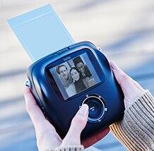 Image 2 - Fujifilm cámara fotográfica instantánea híbrida Instax SQUARE SQ10, original, 100%, Color negro