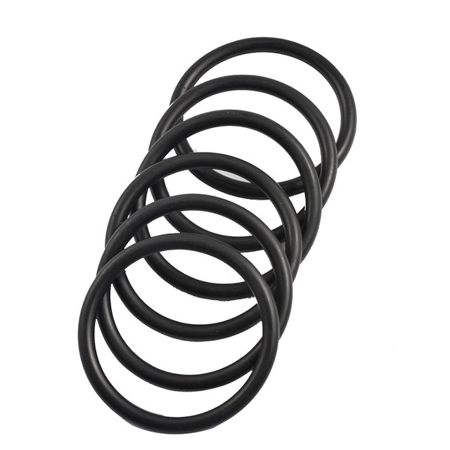 UXCELL Boiler Black 41Mm X 3.5Mm Rubber Sealing Washers Oil Seal O ...