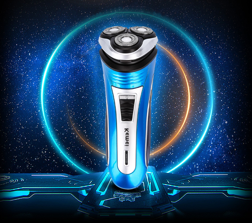 Kemei KM-2801 Comfortable Rechargeable Triple Floating Heads Electric Razor  Shaver Beard with Trimmer for Men – Best Men s Shavers 3c3e7cf49b