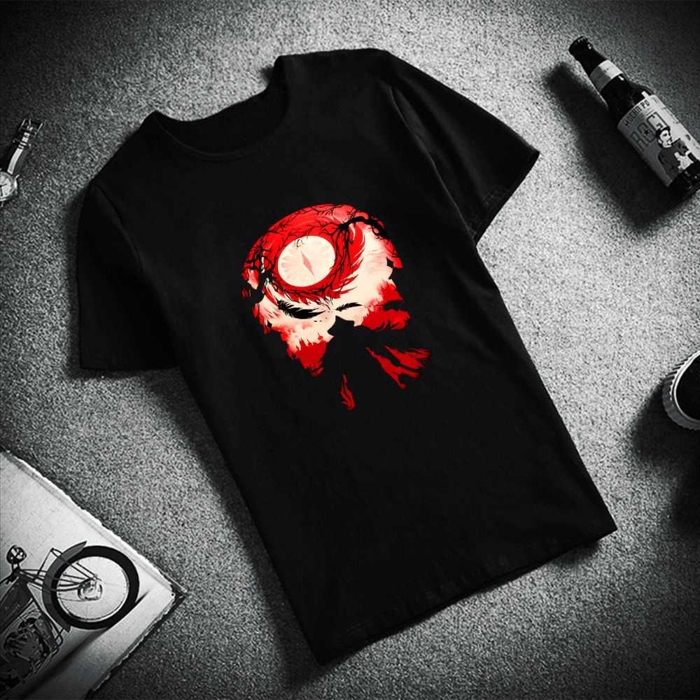 Skipoem ตลก T เสื้อผู้ชาย Bloodborne Dark Hunter เกม Cotton O คอ Tshirt Plus ขนาดแขนสั้นแบรนด์ชายเสื้อยืดเสื้อคู่