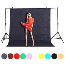 1.6X2/3/ Fotografia Photography studio Green Screen Chroma key Background Backdrop for Studio Photo lighting Non Woven 10 Color