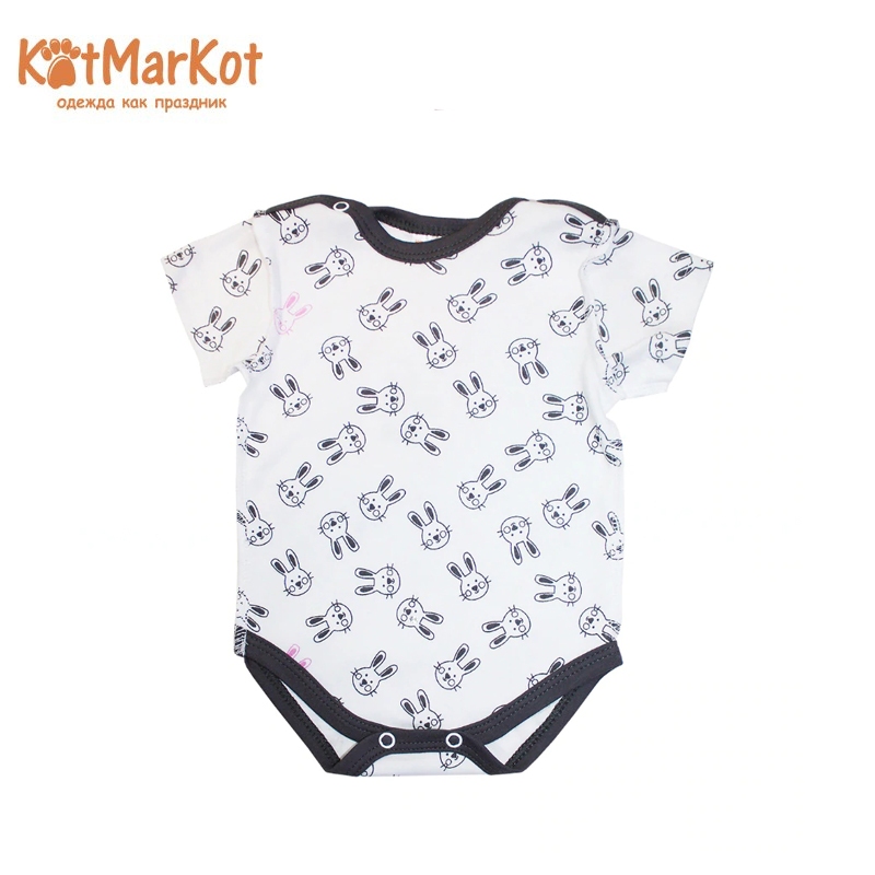 Фото - Bodysuit for boys Kotmarkot 9079 kid clothes plaid stand collar bodysuit