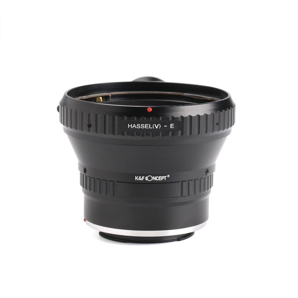 KF Concetto di HB-NEX Adattatori per Obiettivi Fotografici Anello con attacco per treppiede per Hasselblad Lens per Sony E NEX e Mount FotocameraKF Concetto di HB-NEX Adattatori per Obiettivi Fotografici Anello con attacco per treppiede per Hasselblad Lens per Sony E NEX e Mount Fotocamera