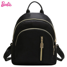 цены Barbie Women Backpacks Fashion Girls Oxford Backpack black Student Bags Trend Brief Bag For Ladies big volume mochila feminina