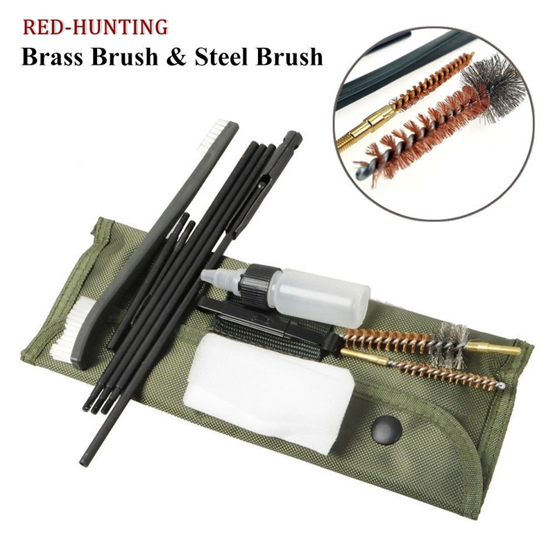 Sporting Goods Barrel Cleaning Kit .177/&.22 Rifle//Pistol Stock In 4.5mm/&5.5mm