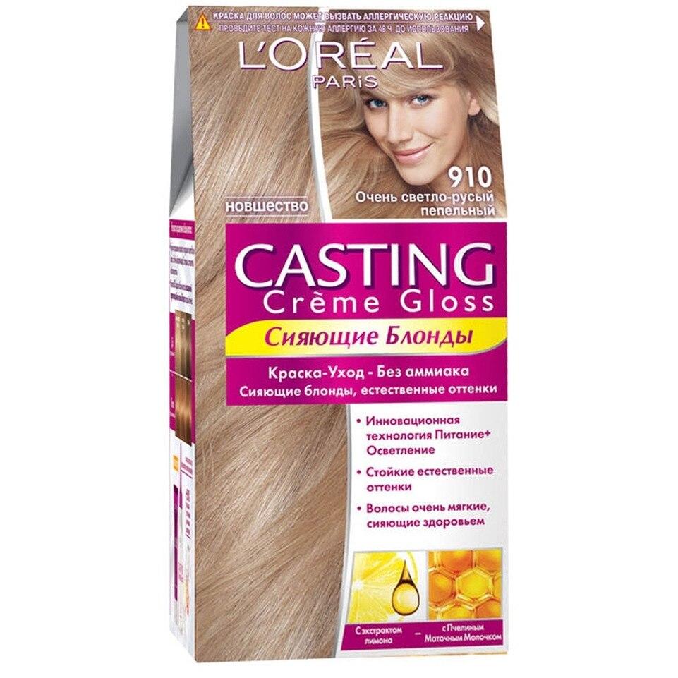 Loreal Casting Creme Gloss Hair Color Cream Tone 910 Very Light