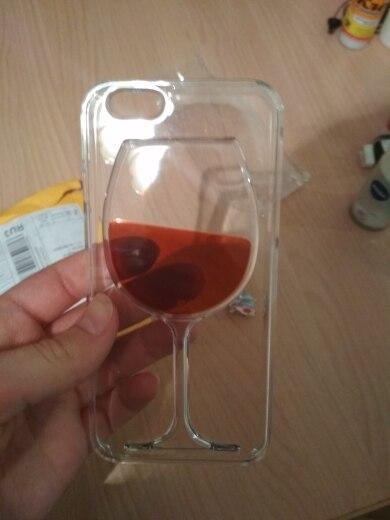 Для iPhone 7 чехол чашки красного вина жидкий прозрачный чехол для Apple iPhone 7 7 Plus 6 6 S плюс 5 5S 8 4 4S Телефонные Чехлы сзади Чехлы для мангала