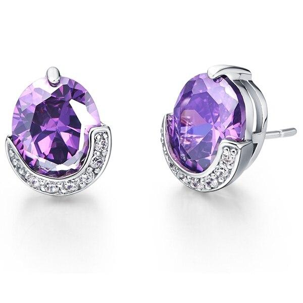 Uloveido Stud Earrings Rhinestones Jewelry Women Crystal Wedding Earring Jewellery Earings Fashion Jewelry Costume Jewelery R200