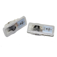 2X LED Car Door Light Logo Projector Lamp For Peugeot 407 2004-2010