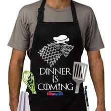 Есть фартук   Игры престолов стиль кухонный фартук   ужин идет барбекю и приготовления фартук