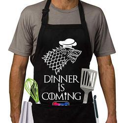 Получили фартук | Игры престолов Стиль Кухонный Фартук | Dinner is Coming барбекю и Пособия по кулинарии фартук