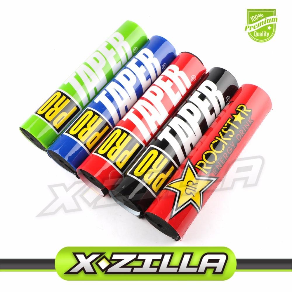 250mm 10 Handlebar Pads 7/8 For CRF RMZ KTM YZF ATV Big Dirt Pit Bike Motorcycle Motocross Enduro SM Pro Taper ROCKSTAR