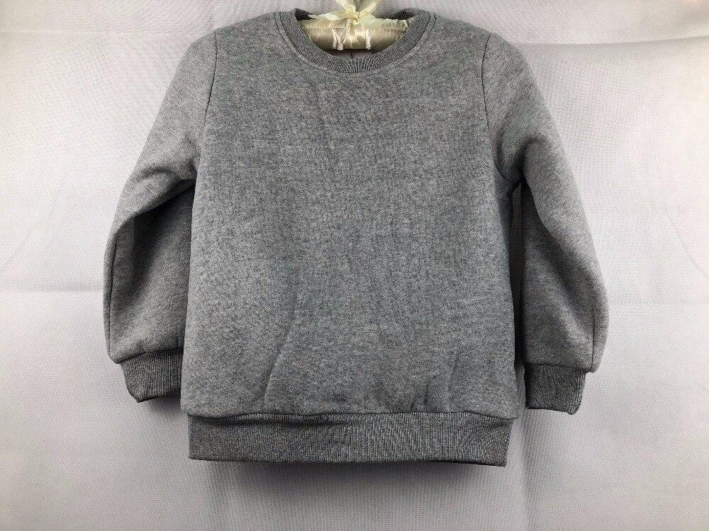 Футболки для маленьких девочек Детские Длинные рукава бархатные свитера для мальчиков gw122 могут быть настроены