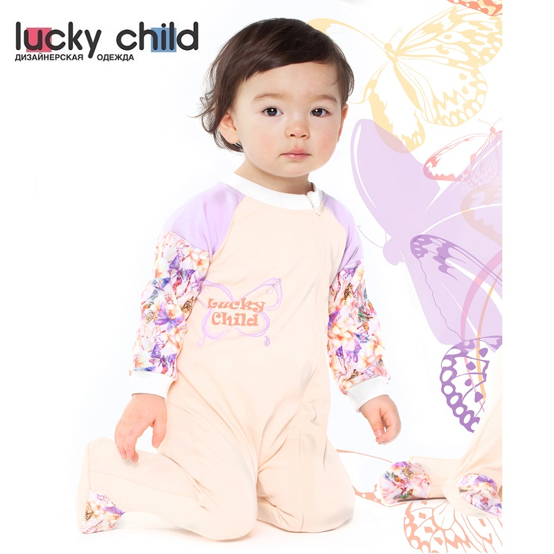 Jumpsuit Lucky Child for girls 26-13f Children's clothes kids Rompers for baby newborn baby boy girl infant warm cotton outfit jumpsuit romper bodysuit clothes