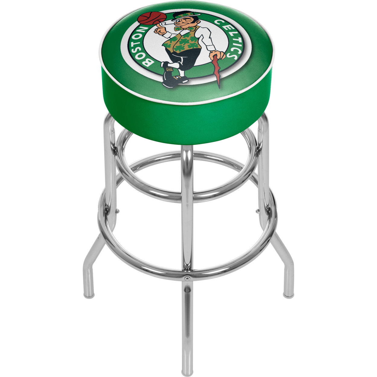 Boston Celtics NBA Padded Swivel Bar Stool 30 Inches High мотоблок дизельный patriot boston 9de