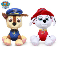 PAW PATROL 25.4cm Plush Doll Chase Marshall Series Dog Toys Children Kids Christmas Birthday Gift with Safety Material