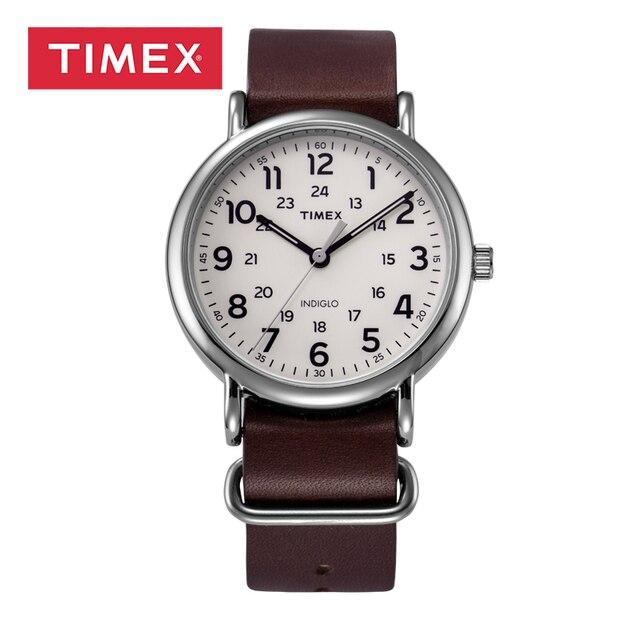 Bracelet montre cuir timex