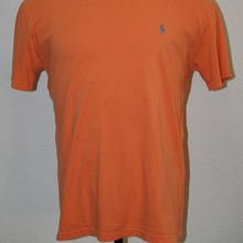 POLO Ralph Lauren Medium Orange T-Shirt Crewneck Chest  44