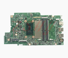 For Dell Inspiron 13 5378 5578 Laptop Motherboard CN-0W25G6 0W25G6 With SR2ZW I3 Processor DDR4