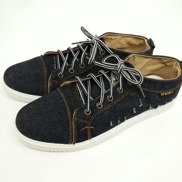 2017 New Men's denim shoes to help low canvas shoes men shoes casual men B0306