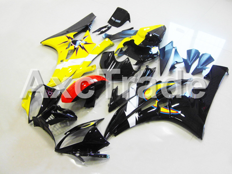 Motorcycle Fairings For Yamaha YZF600 YZF 600 R6 YZF-R6 2006 2007 06 07 ABS Plastic Injection Molding Fairing Bodywork Kit 08 injection molding bodywork fairings set for yamaha r6 2008 2014 blue white black full fairing kit yzf r6 08 09 14 zb77