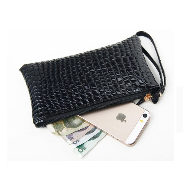 Fashion stone pattern Women Wallet Soft PU Leather Women's Clutch Wallet Female Designer Ladies Wallets Coin Card Purse 4