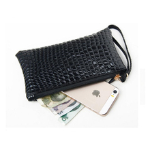 Fashion Stone Pattern Women Soft PU Leather Wallet