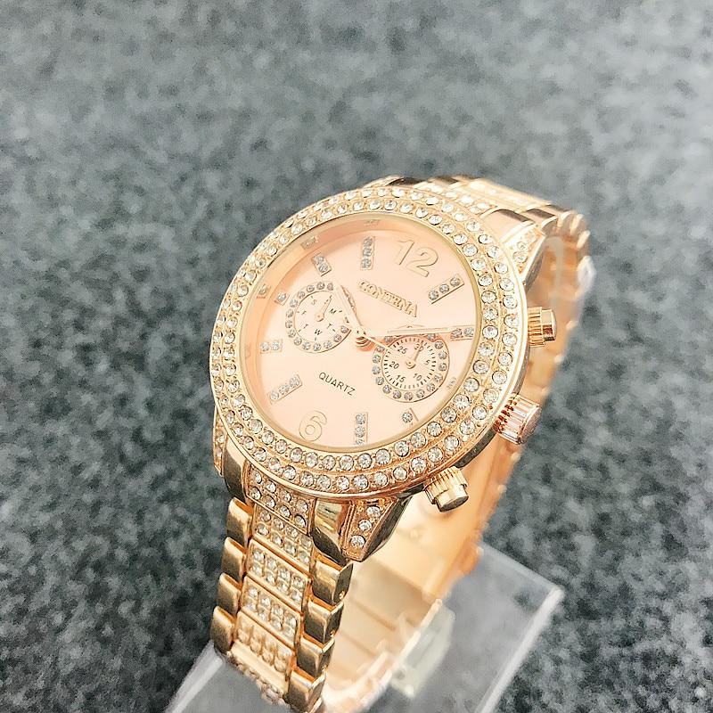 Diamond Bezel Смотреть Watch Luxury Brand - Әйелдер сағаттары - фото 2