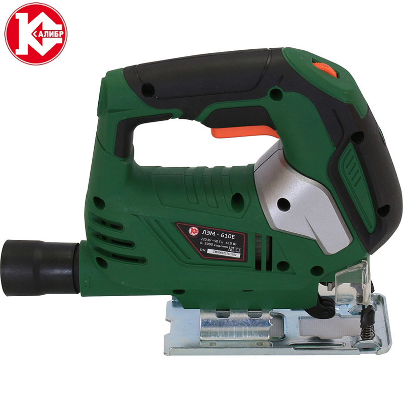 Kalibr LEM-610E Electric Saw Woodworking Power Tools Multifunction Chainsaw Hand Saws Cutting Machine electric curve saw desktop wire saws diy wire cutting machine woodworking tools with english manual s016