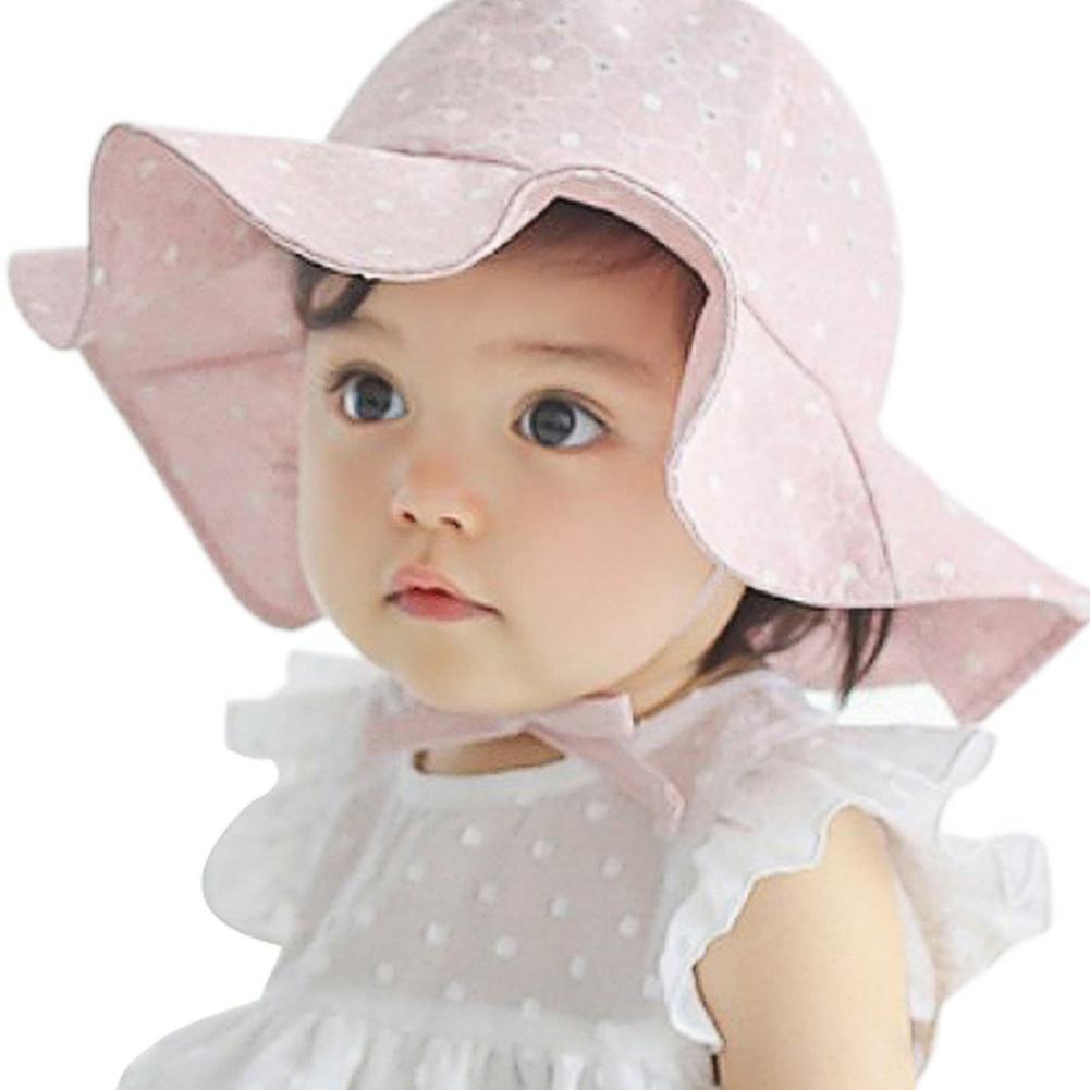 Lovely Toddler Infant Baby Girl Summer Wide Brim Sun ...