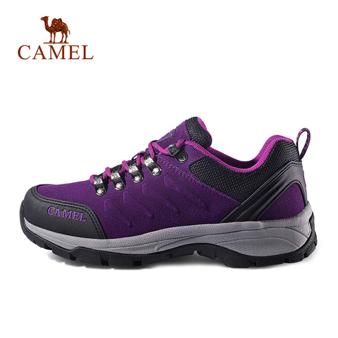 CAMEL Women Outdoor Hiking Shoes Anti-skid Shock Breathable Female Camping Trekking Hiking Sneakers Karachi