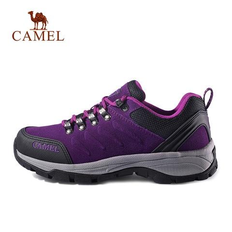 CAMEL Women Outdoor Hiking Shoes Anti-skid Shock Breathable Female Camping Trekking Hiking Sneakers Karachi