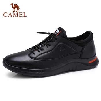 CAMEL New Men Casual Shoes Genuine Leather Fashion Men's Shoes Soft Flexible Lightweight Foam Bottom Man Footwear - DISCOUNT ITEM  30% OFF All Category