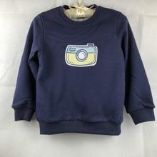 boys  Outerwear Winter Children  Plus Velvet Shirt Kids Warm Clothes Thick sweatshirt cartoon camera GW138 can be customised