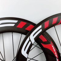 High temperature resistance carbon wheels front 60mm rear 88mm V brake rims clincher/tubular cyclocross 3K glossy Fashion paints