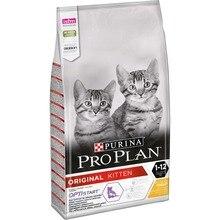 Сухой корм Purina Pro Plan для котят от 1 до 12 месяцев , с курицей, Пакет, 10 кг