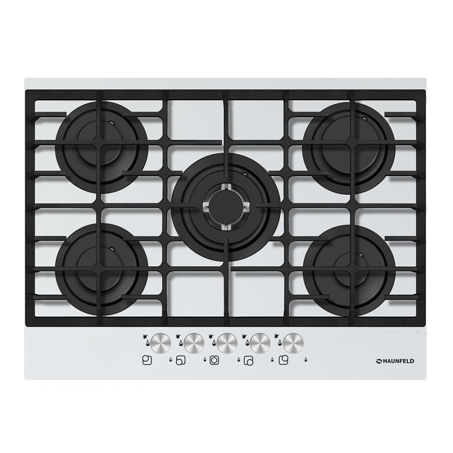 Cooking panel MAUNFELD MGHG 75 13 W White