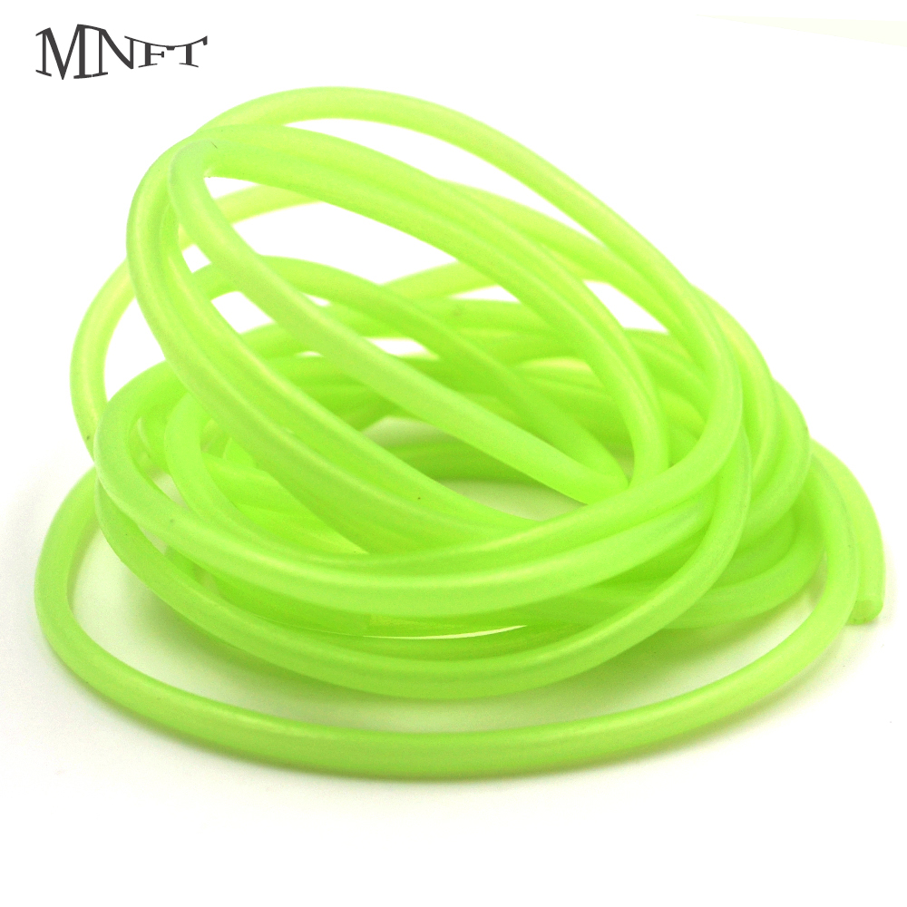 MNFT 2M Red / Green Fishing Soft PVC Material Luminous Tube Glow In The Dark Deep Drop Fishing