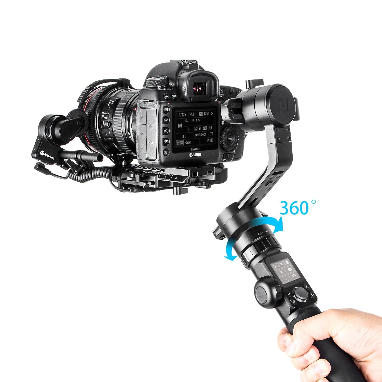 Pro Video Stabilizing Handle Grip for Canon EOS-1D Mark II Vertical Shoe Mount Stabilizer Handle