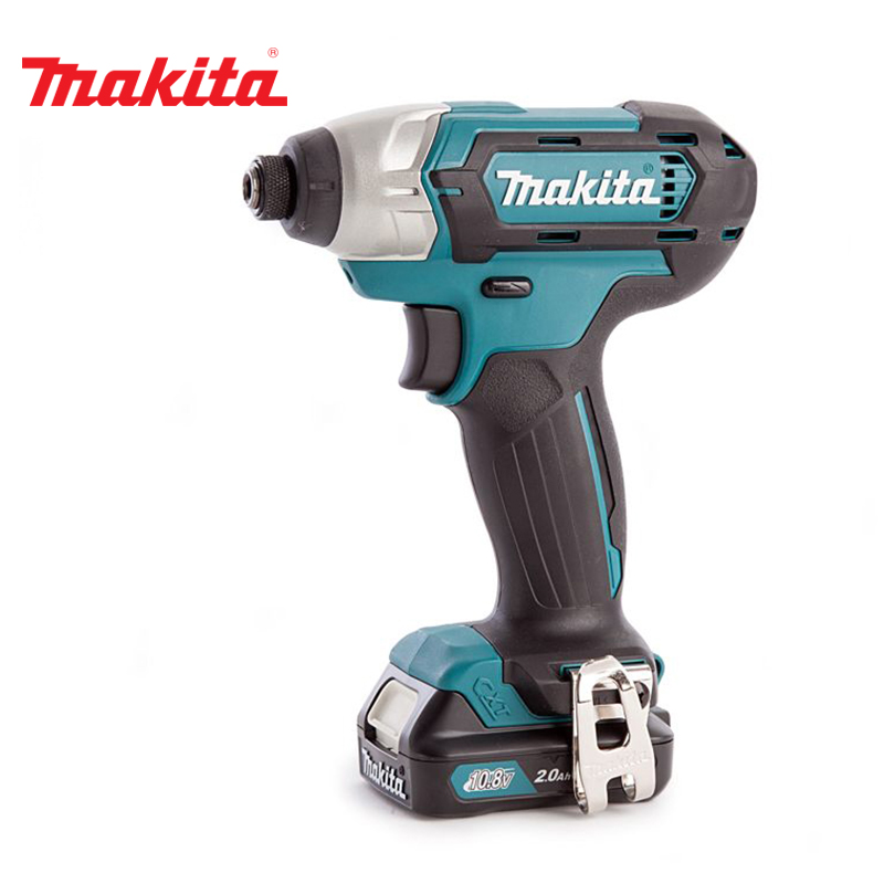 Wrench rechargeable Makita TD110DWAE lithium rechargeable electric wrench wrench cordless impact wrench scaffolding installation tool can change car wheel