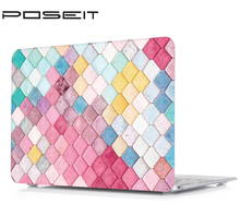 Multicolor printing Hard Cover Case +Silicone Keyboard Cover For Apple Macbook Touch bar 13 15 Air 11 13 Pro Retina 12 13 15